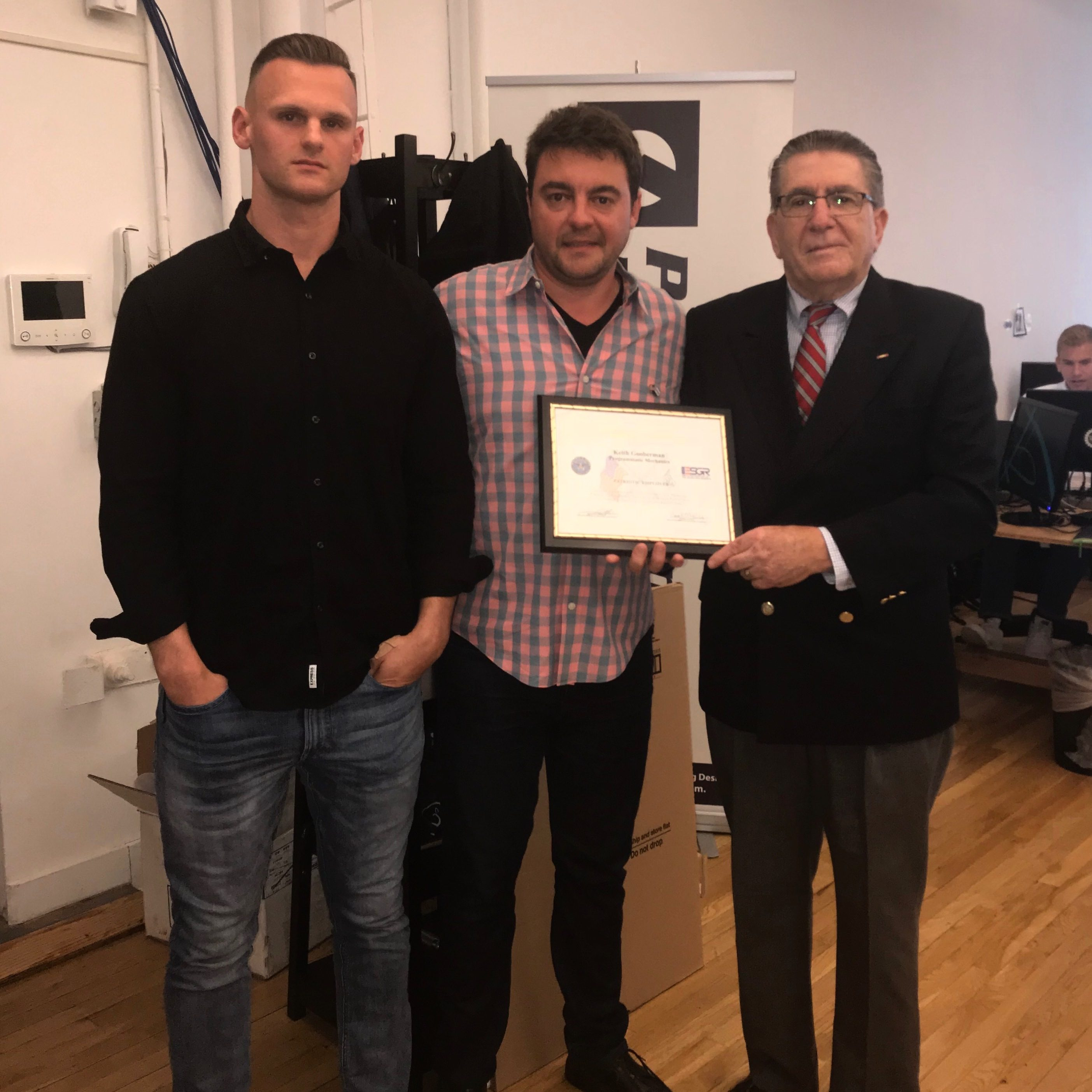 PRESS RELEASE – ProgMechs Receives Patriot Award